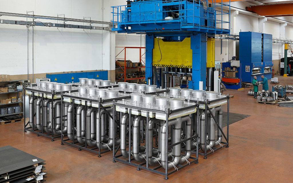 Tubi radianti: la produzione interna
